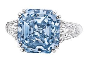 8 01 Carat Fancy Vivid Blue Diamond Ring Sotheby S Hong Kong Auctioned April 12 Anticipated Sale Price 14 000 Blue Diamond Ring Blue Diamond Fine Jewelry