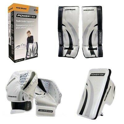 Ebay Sponsored Powertek Barikad 2 0 Junior Hockey Goalie Pad Set 26 Leg Pads Glove Blocker In 2020 Hockey Goalie Pads Goalie Pads Hockey Goalie