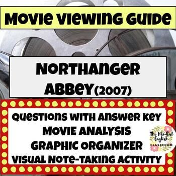 Northanger Abbey 2007 Movie Viewing Guide Graphic Organizers