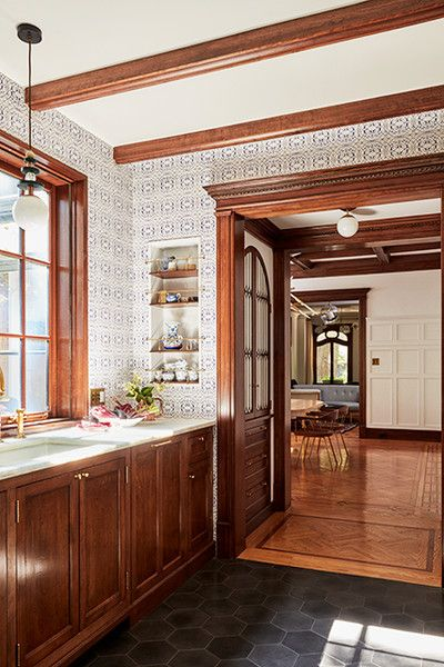 Tile Goals - A 1900s Park Slope Limestone That Perfectly Blends Traditional And Modern  - Photos