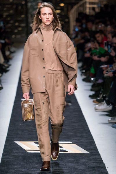 Mens Winter Fashion 2020.Collection Fendi Men Autumn Winter 2019 2020 Milan
