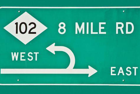 8 Mile - Detroit - 5x7 wMat