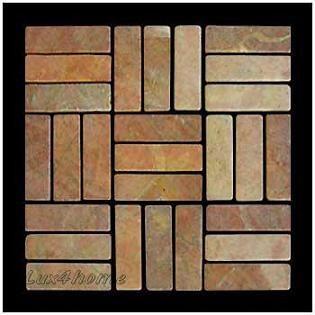 Stil Gedek 30x30cm 12x12 My Proizvodim Kamennyj I Mramornyj Parket V Indonezii Lyuboj Cvetnoj Kame Stone Sink Stone Mosaic Stone