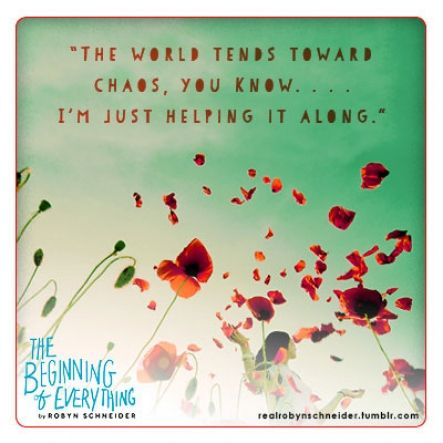The Beginning of Everything Quote 8