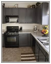 Charcoal Grey Kitchen Cabinets Flipping Ideas Pinterest Grey - Grey kitchen cabinets with black appliances