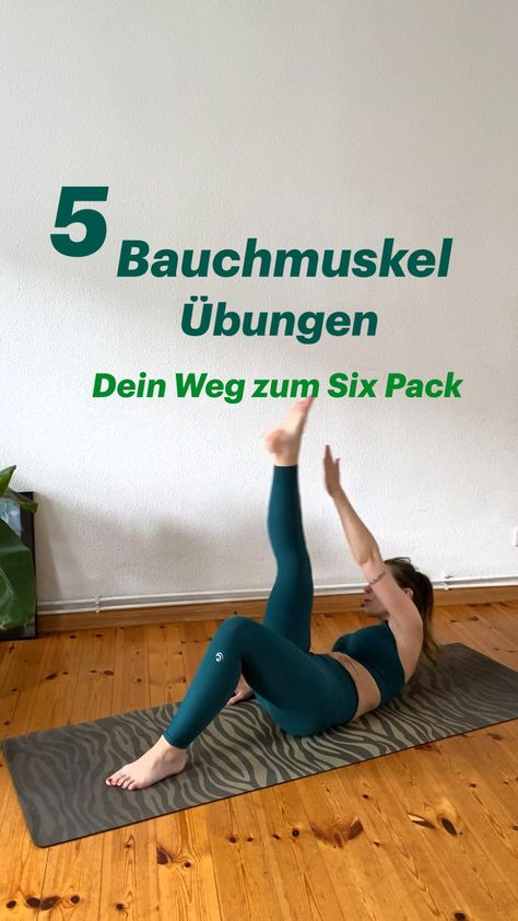 5 effektive Bauchmuskelübungen - dein Weg zum Six Pack