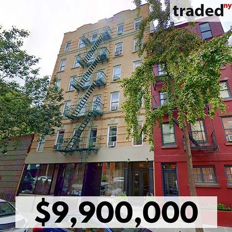 Sale Date 01 16 2020 Address 220 West 13th Street Market West Village Asset Type Multifamily Price 9 900 000 Sf 13 In 2020 West Village House Styles Real Estate