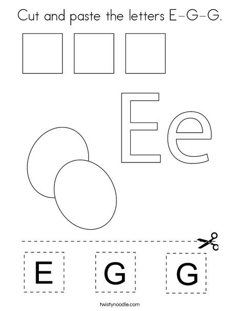 Pin On Food Mini Books Coloring Pages And Worksheets Worksheet letter e kindergarten