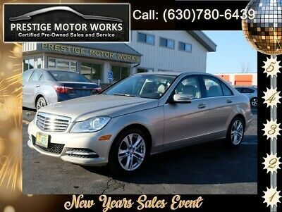Ebay Advertisement 2012 Mercedes Benz C Class C300 4matic 2012