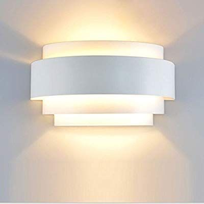 Lightess Modern Sconce Light 5w Hardwired Led Wall Lights Up Down Wall Lamp Indoor For Bedroom Hallway War Wall Lights Wall Sconce Lighting Wall Wash Lighting