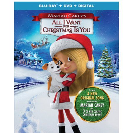Mariah Carey S All I Want For Christmas Is You Blu Ray Walmart Com In 2020 Mariah Carey Classic Christmas Songs Mariah Carey Christmas