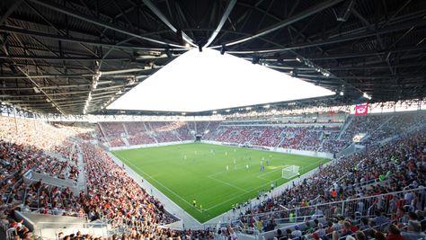 WWK Arena, Augsburg, Alemania Capacidad 30660 espectadores - plana küchenland augsburg