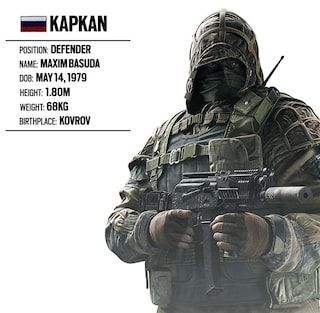 Operator Spotlight 19 Kapkan Russian Unit Rainbow Six Siege Game News Updates Ubisoft Us Rainbow Six Siege Art Rainbow Rainbow 6 Seige