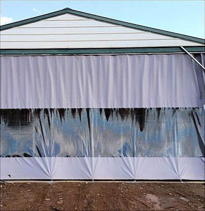 Outdoor Industrial Curtain In 2020 Industrial Curtains Plastic