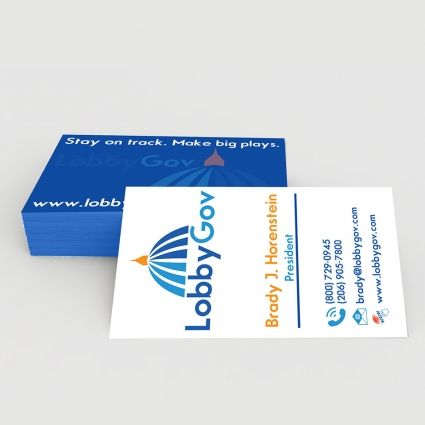 business card with mockup