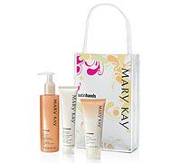 We will all be able to sample Mary Kay's Satin Hands set - a classic favorite!