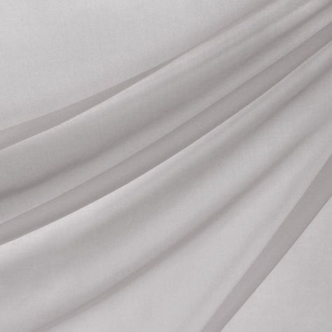 118 Inch Silver Voile By Michaels In Gray Drapery Fabric