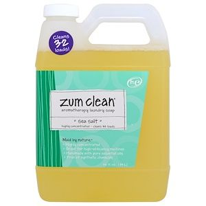 Indigo Wild Zum Clean Aromatherapy Laundry Soap Sea Salt 32 Fl