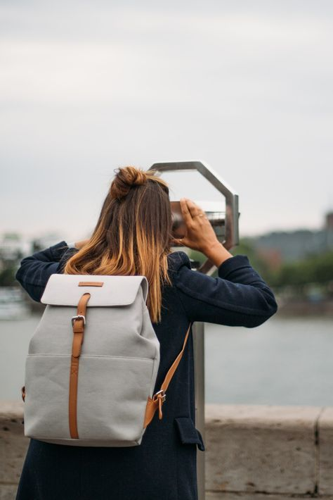 Scandinavian Backpack Minimalist School College University Travel Backpack Vegan Backpack Ruck Minimalist Bag Womens Backpack Minimalist Backpack