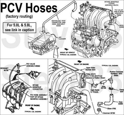 vacuum lines - ford bronco forum