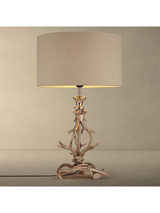 Partners Antlers Table Lamp, Brass