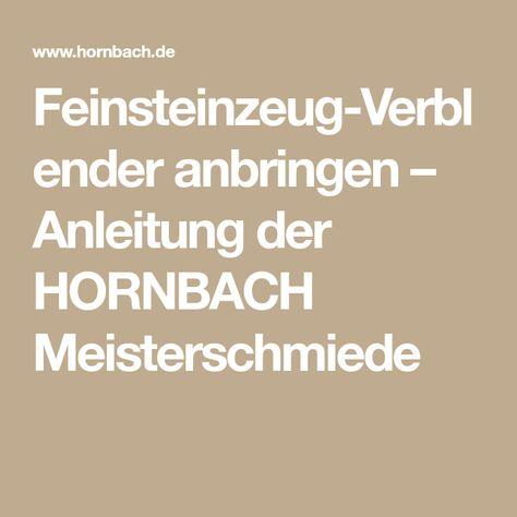Feinsteinzeug Verblender Anbringen Anleitung Der Hornbach Meisterschmiede Verblender Feinsteinzeug Anleitungen