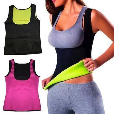 Extreme Neoprene Slimming Yoga Thermo Sauna Miss Belt Shaper Vest Body Sweat NEW