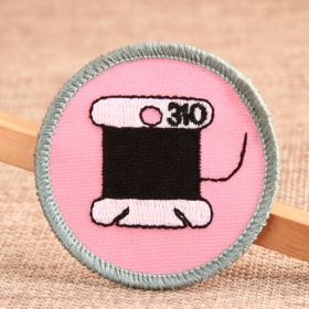 Each Thread Custom Patches No Minimum is in a pink circle