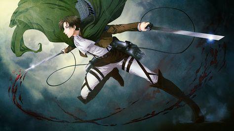 Levi Attack on Titan 3D Gear b04 HD Wallpaper Attack on