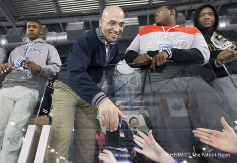Penn State's James Franklin in favor of potential NCAA football early signing period
