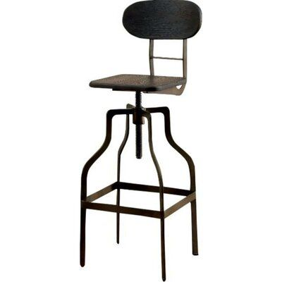 Laurel Foundry Modern Farmhouse Renfrow Adjustable Height Swivel