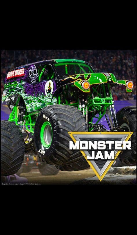 210 Grave Digger Ideas In 2021 Monster Trucks Digger Monster Jam