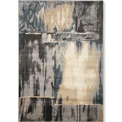 Teppich - blau-grau - 80x150 cm RollerRoller
