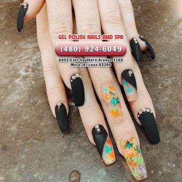Gel Polish Nails And Spa Nail Salon Mesa Az 85206 Nail Spa Gel Nail Polish Nails