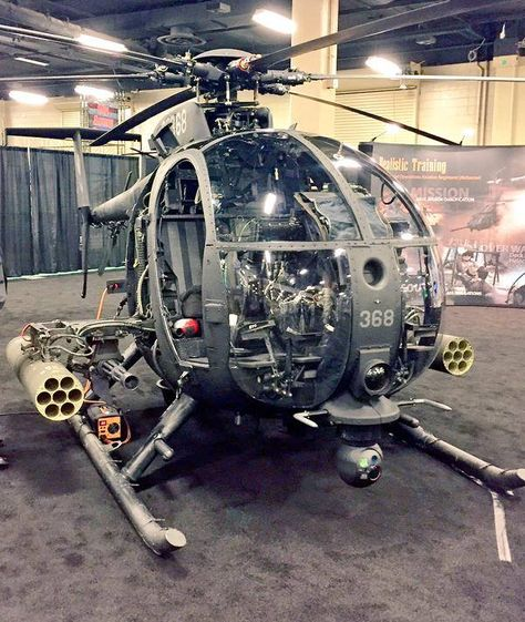 OH-6 Littlebird Gunship