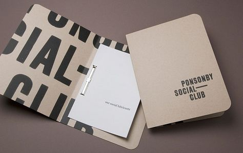 Strategy - design and advertising company branding project. this one is for Ponsonby Social Club Bar in Auckland. they describe this as anti-design. Design Corporativo, Buch Design, Print Design, Flyer Layout, Portfolio Book, Portfolio Design, Makeup Portfolio, Tattoo Portfolio, Personal Portfolio