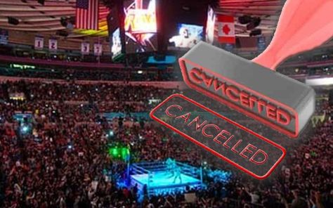Wwe Madison Square Garden Return Cancelled With No New Date Madison Square Wwe Madison Square Garden