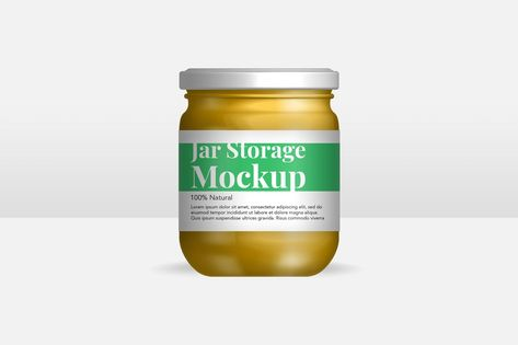 YDM Jar Bottle Mockup by MartypeCo on Envato Elements