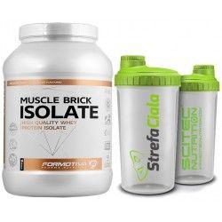 Formotiva Muscle Birick Isolate Muscle Isolate Protein Coconut Oil Jar