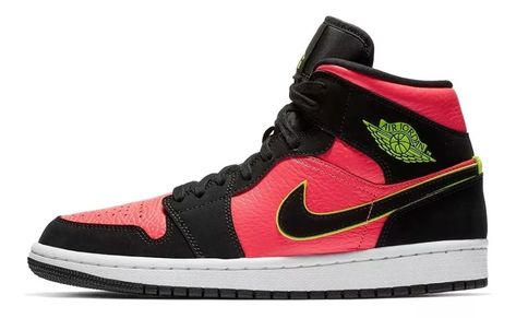Zapatillas Nike Jordan Air 1 Mid $ 8.500,00 en Mercado
