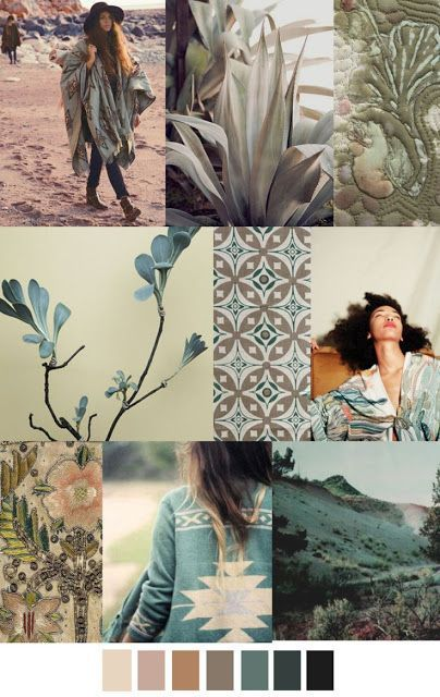 S/S 2016 colors trend: DESERT SAGE - much nicer than than sickly pantone colours