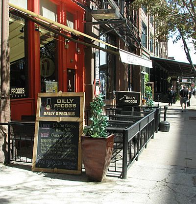 Outside Seating At The Billy Frogg S Restaurant In Omaha Old Market American Charm Pinterest Restaurants
