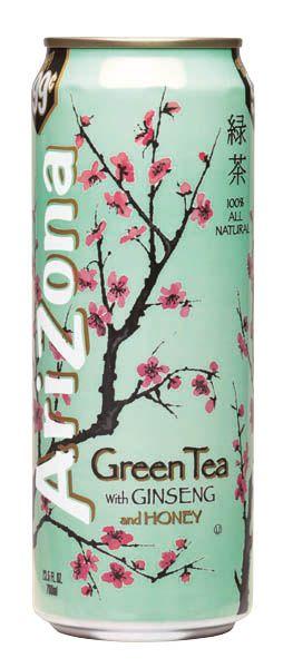 DIY Arizona Green Tea with Ginseng & Honey.