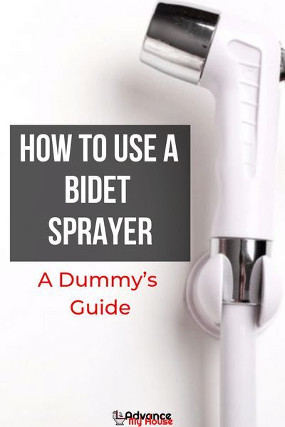 How To Use A Bidet Sprayer A Dummy S Guide Asian Bathroom