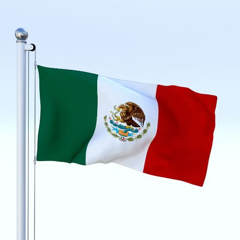 Animated Mexico Flag In 2018 House 3d Models Pinterest