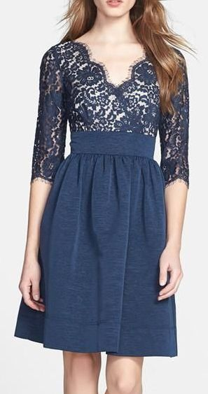 Navy Lace Dress They Have It At Nordstrom And Lord And