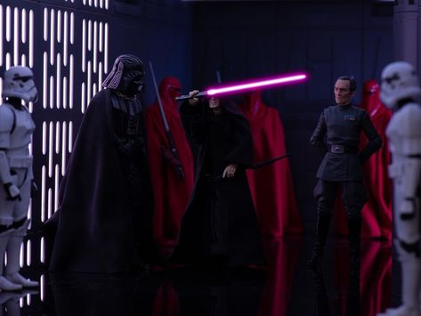 Love this shot from @truupperi and the story/set up that goes with it... the story being Lord Vader presenting The Emperor with a Sith artefact... one of Darth Revans lightsaber. #Vader #darthvader #theemperor #palpatine #grandmofftarkin #tarkin #stormtrooper #stormtroopers #theempire #revan #darthrevan #thedarkside #starwars #starwarstheblackseries #starwarsblackseries #blackseries6inch #starwars6inch #starwarstoys #hasbro #toypic #toypics #toypix #toyphoto #toyphotography #toytribe