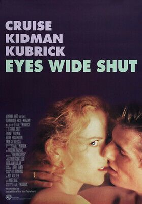 Tom Cruise Nicole Kidman Eyes Wide Shut Large A3 Size Quality Canvas Print Fashion Home Garden Homed Eyes Wide Shut Classic Movie Posters Stanley Kubrick
