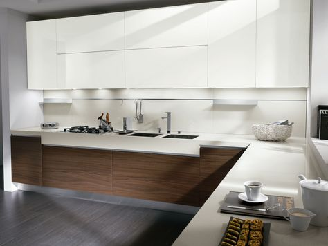 CUCINA IN NOCE ELEKTRA NEW CLASSIC COLLEZIONE ELEKTRA BY - nobilia küchen zubehör