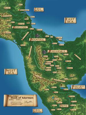 Book Of Mormon Lands Hazbineldar: Updated Book of Mormon Map Family Scripture, Scripture Study, Scripture Journal, Book Of Mormon Stories, Mormon Book, Lds Seminary, Lds Books, Lds Scriptures, Lds Primary